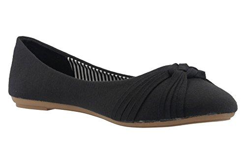 Ballerine Fitters nero nero donna Footwear znqq8vx65
