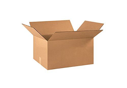 RetailSource Corrugated Boxes, 22'' x 16'' x 10'', (16' Flat Pack)