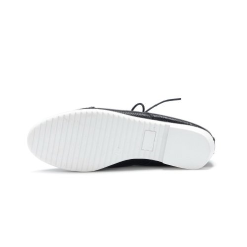 Amoonyfashion Damesschoenen Met Dichte Neus En Punt Lage Hakken Pumps-schoenen Met Ruches, Zwart, 38