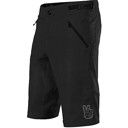 Troy Lee Designs Skyline Shorty Short - Men's Solid Black, - Mens Shorts Shorty