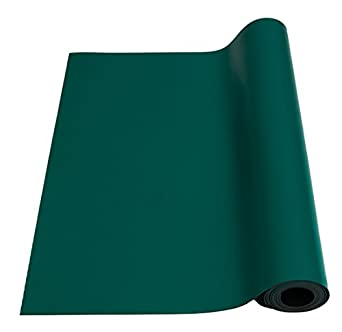 Bertech Anti Static High Temperature Rubber Mat Roll 2/' Wide x 10/' Long x 0.08/""