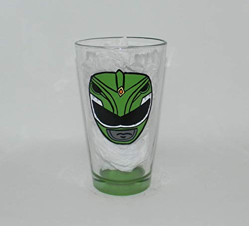 Green Power Ranger pint glass -