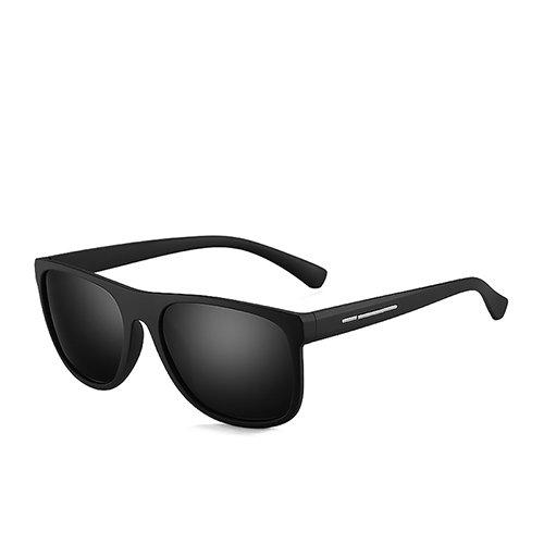Black Voyage C2 Conduite de Lunettes Polarisées Matte Sunglasses Hommes Soleil Smoke TL de Hommes Soleil pour Wayfarer de Lunettes Lunettes mais Les Pêche H16q5Z5w