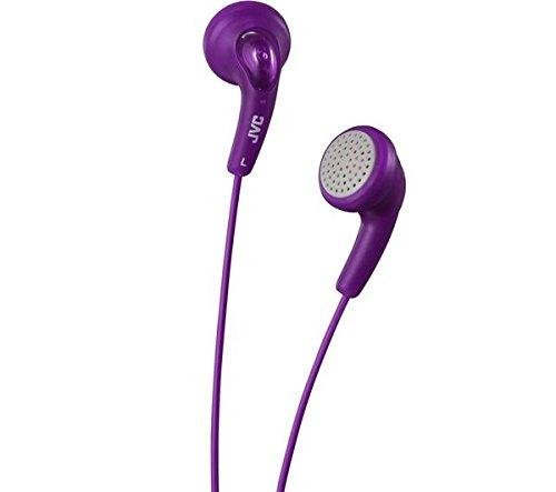 JVC HAF140VN Gumy Headphone (Violet) (Discontinued by Manufacturer)