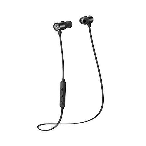 Motorola VerveLoop 2+ Super Light, Waterproof, Wireless Stereo Earbuds - Alexa Enabled - (SH020)