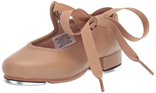 Bloch Dance Girl's Annie Tyette Tap Shoe,Brown Tan,8    Medium US -