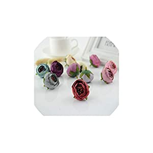 UNstars Artificial Flowers Silk Tea Bag Rose Flores Artificial Flowerss Material Giftscraft 113