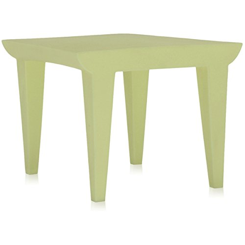 Kartell 6080/63 Bubble Club Sofa by Philippe Starck, Pack of 1, Matte Light Green