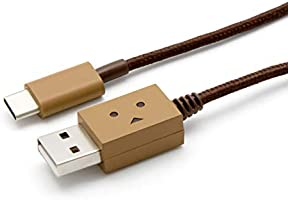 cheero DANBOARD USB Cable with USB Type-C 高速データ転送 充電ケーブル 高速充電 56kΩレジスタ搭載 新型Macbook/Nintendo Switch/Experia XZ2 100cm