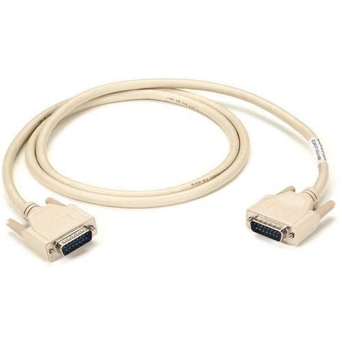 (Black Box EGM16T-0005-MM, DB15 Thumbscrew Cable, Male/Male, 5' (1.5-m), Pack of 6 pcs)