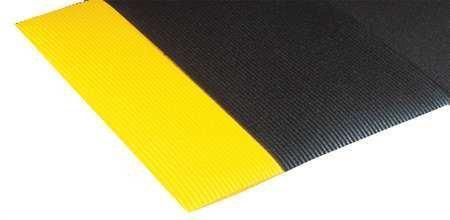 Full 60' Roll (Notrax Blade Runner Anti-Fatigue Mat - Full Roll - 3X60' - Black/Yellow Border - Black/Yellow Border - 3x60')