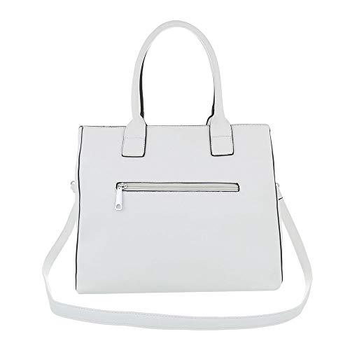 design Sac L'épaule À Weiß Femme Ital Porter Pour d5nCdq