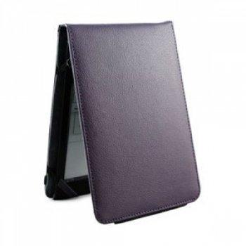 Groov-e GVKNDLWLBK Genuine Leather Wallet Case for Kindle4/Kindle Touch - Black