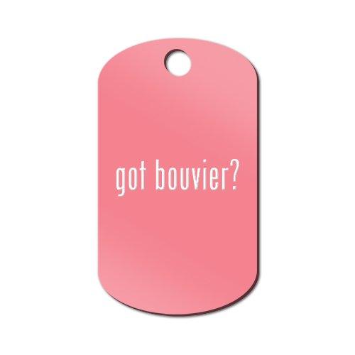 Got Bouvier Engraved Keychain / GI Tag Mister Petlife #2 des Flandres Pink ()