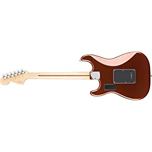 Fender 0147302384 Deluxe Roadhouse Stratocaster Maple Fingerboard Electric Guitar – Classic Copper