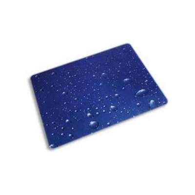 - ColorTex Printed Polycarbonate Chair Mat - 48x36quot; - Water Drops