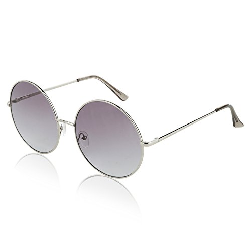 Cool Flash Mens 60s Sunglasses Big Lightweight Fashion