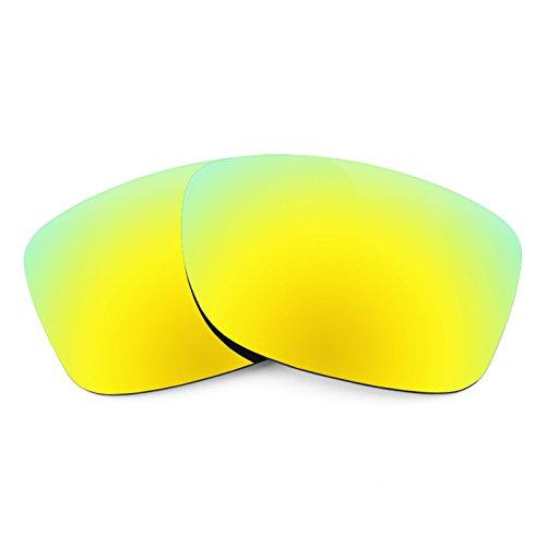 Revant Replacement Lenses for Oakley Jupiter Factory Lite, Polarized, Bolt Gold - Lite Gold Lens