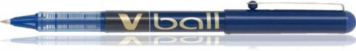 Pilot VB7 V ball liquid ink pen with fine 0.4mm line width and blue ink, PACK of 12 ()