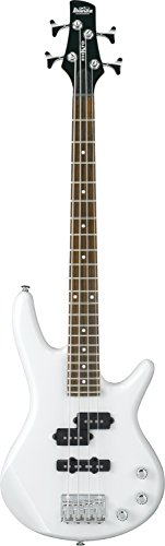 Ibanez 4 String Bass Guitar, Right Handed, Pearl White (GSRM20PW)