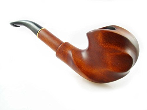 Tobacco Pipe Carving Handmade Hand Carved Pear Wooden Pipe Exclusive Design Expression Plus Free Gift