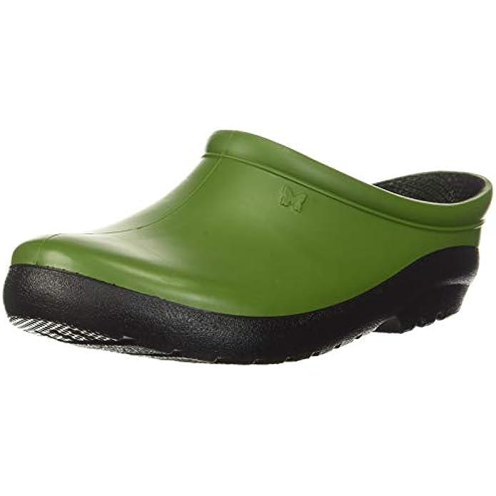 Sloggers Women's Premium Garden Clog, Kiwi Green, Size
