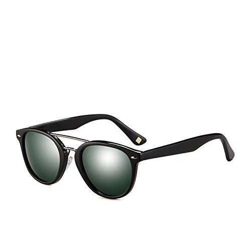 Gafas Tonos polarizadas Pesca Hombres Unisex de Gafas de Sol C01 Sol Sunglasses Demi de Gafas viajan C02 Brown G15 Acetato TL Black para Conducir de UqvxZUY0