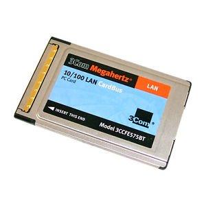 3Com 3CXFE575BT Megahertz 10/100 PCMCIA Lan Adapter PC Card