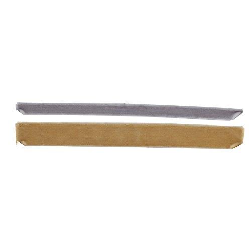 Lux Accessories Grey and Tan Velvet Suede Ribbon Choker Set (Tan Velvet Cord)