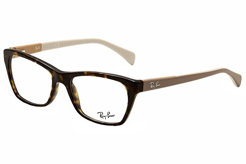 Ray-Ban Women's RX5298 Eyeglasses Havana 53mm by Ray-Ban