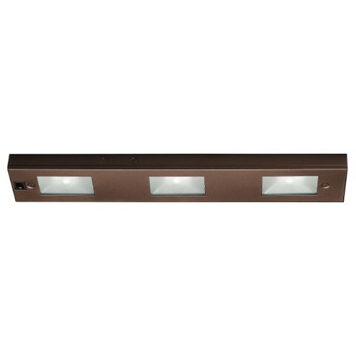 WAC Lighting BA-LIX-3-BB Three Light - Line Voltage UnderCabinet Light, Bronze Finish by WAC Lighting