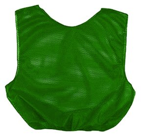 Martin Kelly Green Adult Mesh Poly Scrimmage Vests ()
