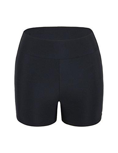 Hilor Women's Boardshorts Boy Leg Swim Shorts UPF 50+ Swim Bottom Active Sports Shorts