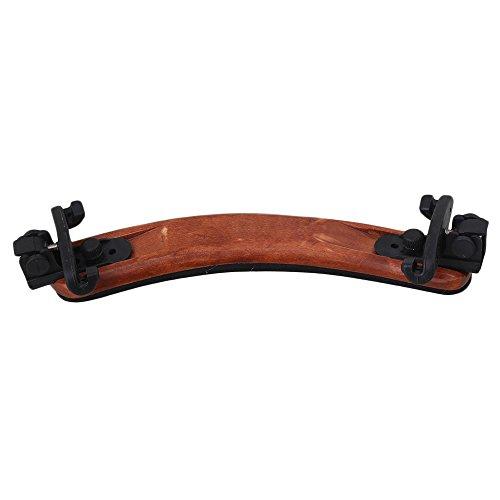 3/4 4/4 Wood Arcuated Violin Shoulder Rest Adjustable Wooden Color - 2