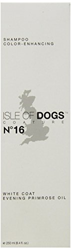 Isle of Dogs Coature No.16 White Coat Evening Primrose Oil Dog Shampoo 8.4 - Shampoo Harsh Coat