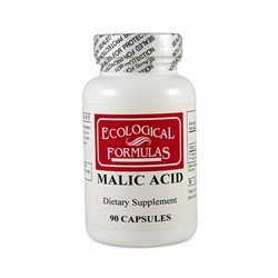 Ecological Formulas - Malic Acid 600 mg 90 caps made by Ecological Formulas