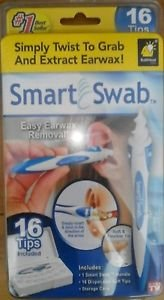 smart-swab-disposable-ear-wax-cleaner-system-with-16-replacement-heads
