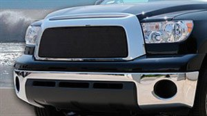 (TRex Grilles 46959 Small Mesh Steel Black Finish Sport Grille Overlay for Toyota Tundra)