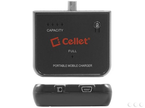 Cellet Portable Emergency Mobile Charger for Mini USB Com...