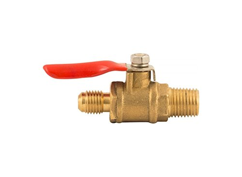 Shutoff With Check Valve - 1/4 in MPT x 1/4 in MFL (Pack ...