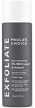 Paulas Choice--SKIN PERFECTING 2% BHA Liquid Salicylic Acid Exfoliant--Facial Exfoliant for Blackheads, Enlarg