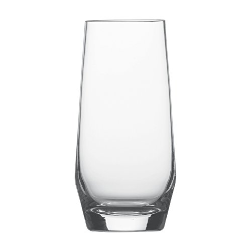(Schott Zwiesel Tritan Crystal Glass Pure Barware Collection Long Drink Cocktail Glass, 18.3-Ounce, Set of)