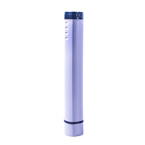 (Fench Square Painting Tube Adjustable Portable Drawing Poster Tube (Purple))