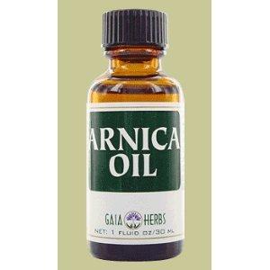Arnica Oil By Gaia Herbs [1 Fluid Ounce]