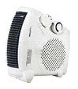 LLoytron F2003WH Fan Heater 2000W with 2 Heat Settings & Cool Blow