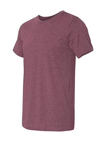 CN MEN GREENWICH FITTED TEE, HEATHER MAROON, ()
