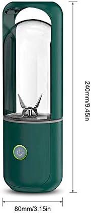 TYI -Licuadora Portátil, Exprimidor Eléctrico USB De Tamaño Personal, Fruta, Batido, Licuadora De Alimentos para Bebés con 4 Cuchillas Mejoradas, Interruptor De Seguridad, 380 Ml