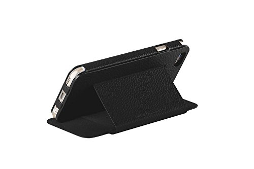 Just mobile Quattro™ Folio The distinguished leather case stand for the new iPhone 6 Plus & 6s Plus – Black
