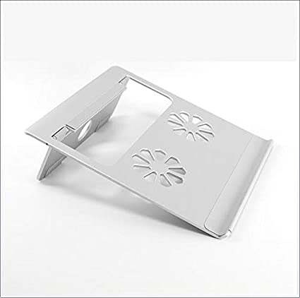 Aluminum Folding Laptop Stand Cooling and Ventilation Base Ergonomic Design Office Home Travel CICIN Portable Laptop Stand