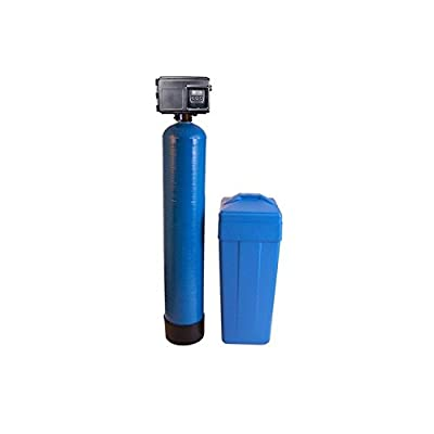Iron Pro 48K Combination Water Softener & Iron Filter with Fleck 2510SXT Digital Metered Valve - Treat Whole House up to 48,000 Grains